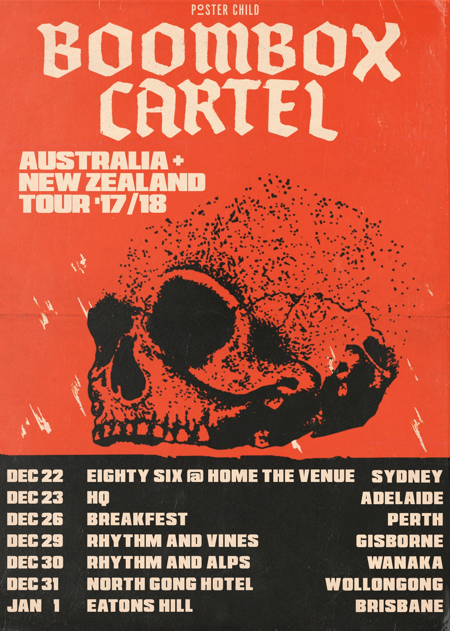 Boombox Cartel Tour
